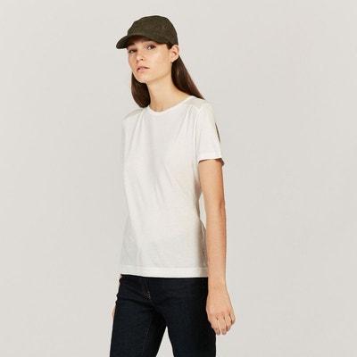 MIXTEE | Femme Le tee-shirt mix matiere BLANC | Aigle AIGLE