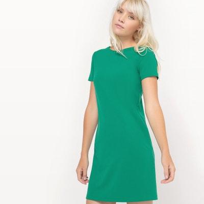 Kurzärmeliges Kleid mit Details am Rücken MADEMOISELLE R