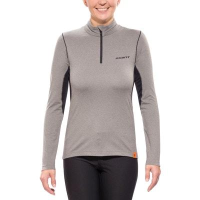 Nuba - T-shirt manches longues femme - noir AXANT