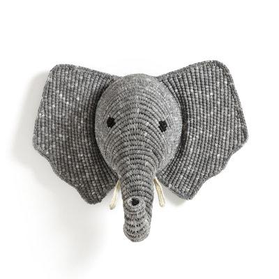 Cabeza de elefante para pared Lapilli Cabeza de elefante para pared Lapilli AM.PM.