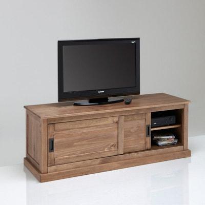 Meuble TV Meuble TV design blanc d angle en solde