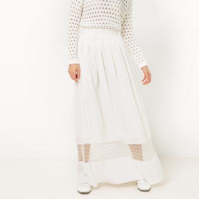 Plain Full Maxi Skirt SUNCOO