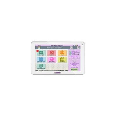 Tablette senior CDIP FACILOTAB L 10.1 32Go Wifi 3G Blanc CDIP