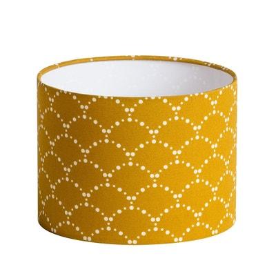 abat jour jaune en solde la redoute. Black Bedroom Furniture Sets. Home Design Ideas