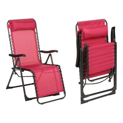 fauteuil de jardin relax silos framboise fauteuil de jardin relax silos framboise hesperide - Relax De Jardin