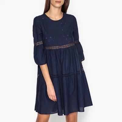 Kurzes Kleid ROMA LACE mit Lochstickerei LEON and HARPER