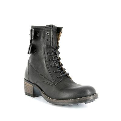 Leather Ankle Boots P-L-D-M-BY PALLADIUM