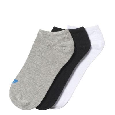 Socquettes Trefoil Liner (3 paires) Socquettes Trefoil Liner (3 paires) adidas Originals