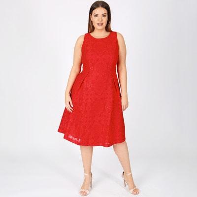 Midi Jacquard Dress with Pleats Midi Jacquard Dress with Pleats LOVEDROBE