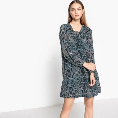 Long-Sleeved Midi Dress SUNCOO