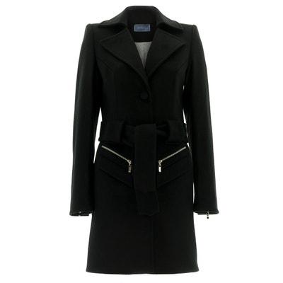 Manteau redingote en cachemire noir Manteau redingote en cachemire noir RENOMA