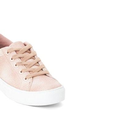 Sneakers met pailletten, 26-39 La Redoute Collections
