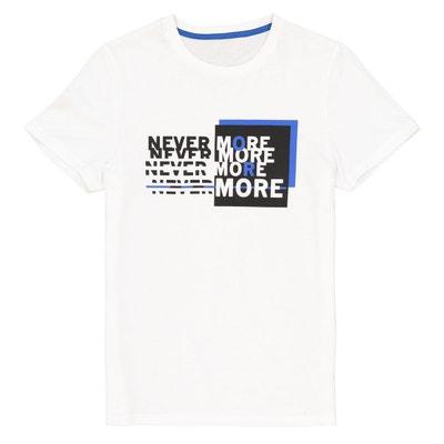 d3d79ad8d9eb5 t-shirt col rond imprimé 10-16 ans t-shirt col rond imprimé