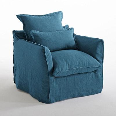 Fauteuil en lin confort bultex, Odna La Redoute Interieurs