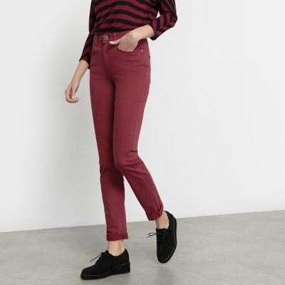 Calças NOUFLORE, corte slim, cintura subida Calças NOUFLORE, corte slim, cintura subida CIMARRON