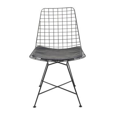 Chaise Grid noire Kare Design Chaise Grid noire Kare Design KARE DESIGN