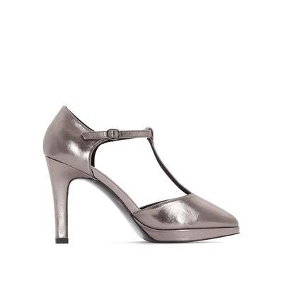 Iridescent Heels with Platform Detail MADEMOISELLE R