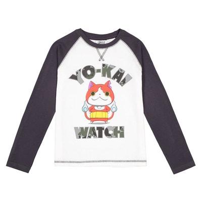 Tee-shirt 6 - 12 ans YO KAI WATCH