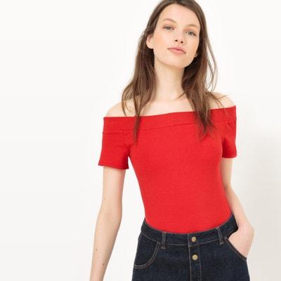 T-shirt body, spalle scoperte MADEMOISELLE R