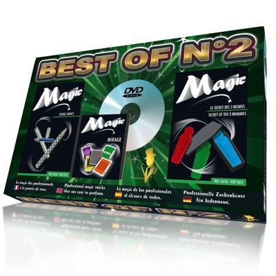 Magie : Coffret Best Of n°2 : Le secret des 3 Momies, Double Impact & Jeu de cartes Mirage Magie : Coffret Best Of n°2 : Le secret des 3 Momies, Double Impact & Jeu de cartes Mirage OIDMAGIC