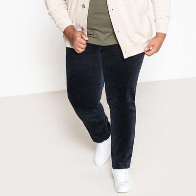 a63ab23fd810b Pantalon en velours taille ajustable Pantalon en velours taille ajustable  CASTALUNA FOR MEN. Soldes