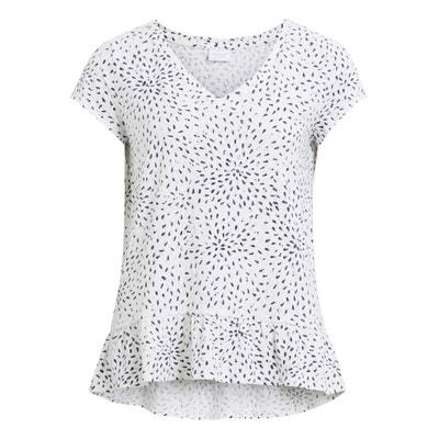 Printed Peplum T-Shirt Printed Peplum T-Shirt VILA