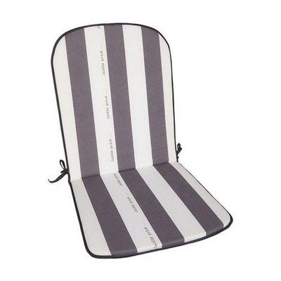 Coussins de chaises de jardin avec dossier | La Redoute