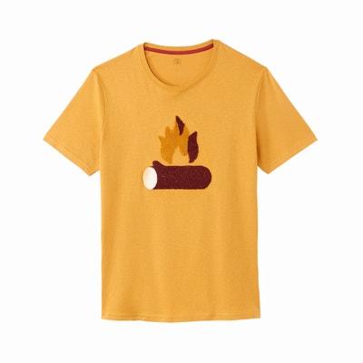 Camiseta de cuello redondo y manga corta Camiseta de cuello redondo y manga corta La Redoute Collections