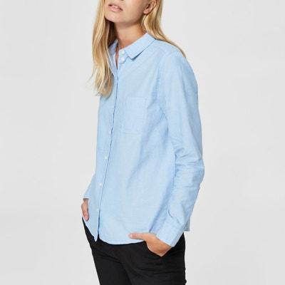 Camisa de manga larga con bolsillo en el pecho Camisa de manga larga con bolsillo en el pecho SELECTED FEMME