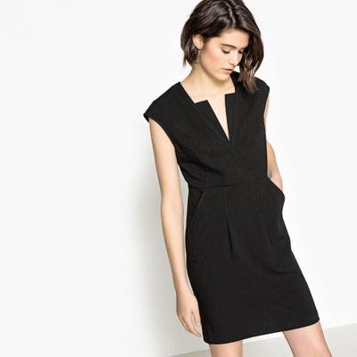 Ausgestelltes Kleid, kurze Ärmel, effektvolles Dekolleté La Redoute Collections