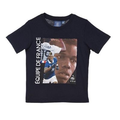 T-shirt FFF Pogba Bleu Junior T-shirt FFF Pogba Bleu Junior MADE IN SPORT