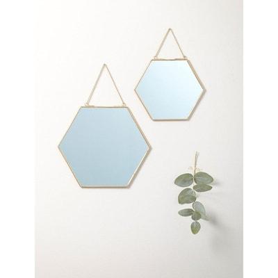 Miroir doré par lot de 2 Miroir doré par lot de 2 CYRILLUS
