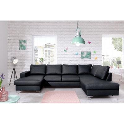 canape simili cuir la redoute. Black Bedroom Furniture Sets. Home Design Ideas