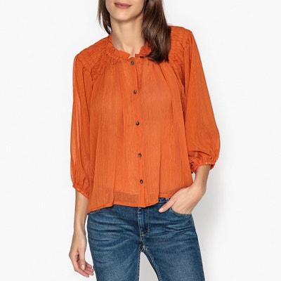 Camisa larga com botões CLEMENTINE CHIFFON BLOUSE Camisa larga com botões CLEMENTINE CHIFFON BLOUSE SISTER JANE
