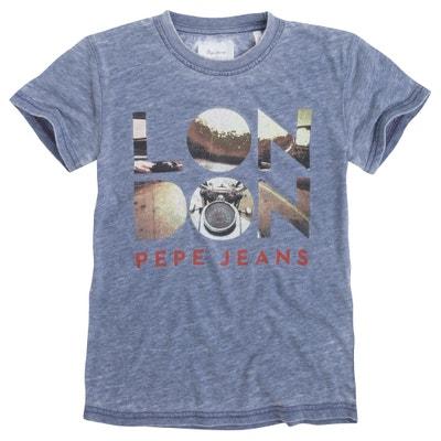 London Print T-Shirt, 8-16 Years PEPE JEANS