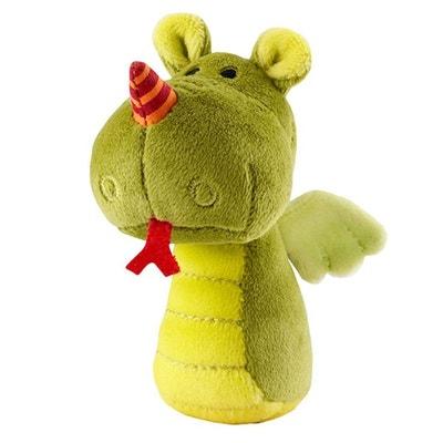 Hochet dragon Walter : Mini hochet clochette Hochet dragon Walter : Mini hochet clochette LILLIPUTIENS