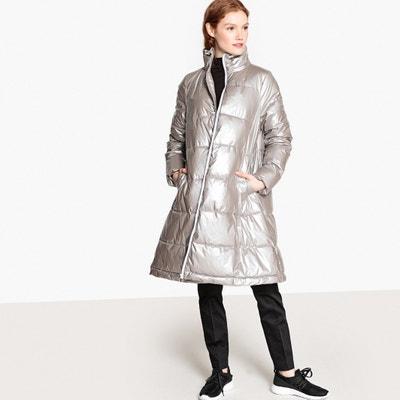 Куртка стеганая длинная на молнии для зимы Куртка стеганая длинная на молнии для зимы La Redoute Collections
