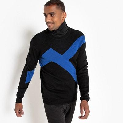 Пуловер с круглым вырезом из тонкого трикотажа Пуловер с круглым вырезом из тонкого трикотажа La Redoute Collections
