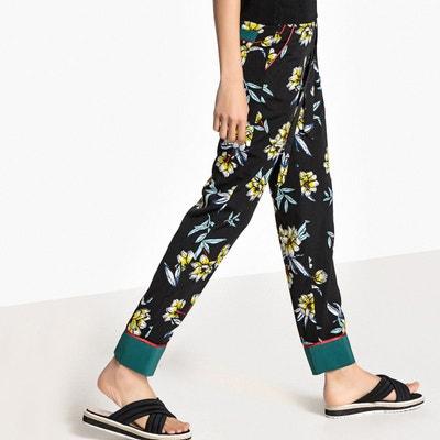 Pantalon fluide esprit pyjama La Redoute Collections