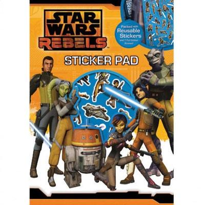Planche de stickers et scénes à décorer star wars rebels Planche de stickers et scénes à décorer star wars rebels EUROSCREEN
