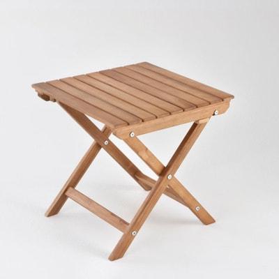 Table basse pliante acacia Table basse pliante acacia La Redoute Interieurs