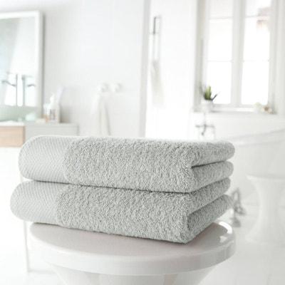 Lote de 2 toalhas em puro algodão 420 g/m² Lote de 2 toalhas em puro algodão 420 g/m² La Redoute Interieurs