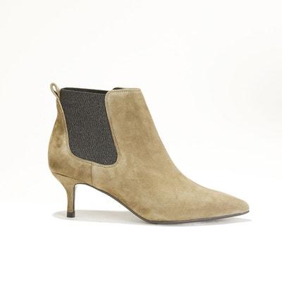 Boots à talon aiguille cuir ROSSIGNOL ESSENTIEL ANTWERP