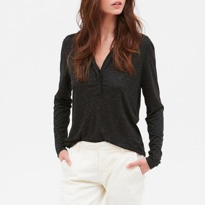 Shirt TURCIE mit Henley-Ausschnitt und langen Ärmeln Shirt TURCIE mit Henley-Ausschnitt und langen Ärmeln HARTFORD