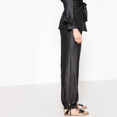 Pantalon avec lien bas de jambe La Redoute Collections