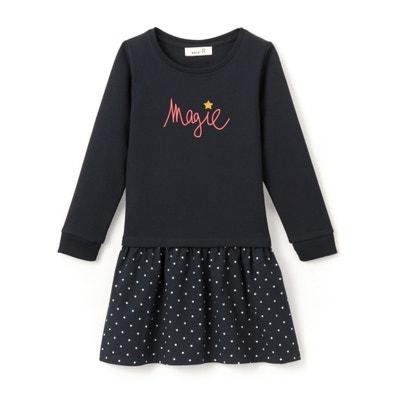 2 in 1 sweaterjurk Magie 3-12 jaar La Redoute Collections