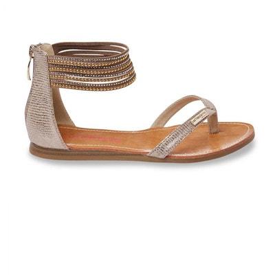 Sandales Les Tropeziennes Ginkgo Or e17 LES TROPEZIENNES