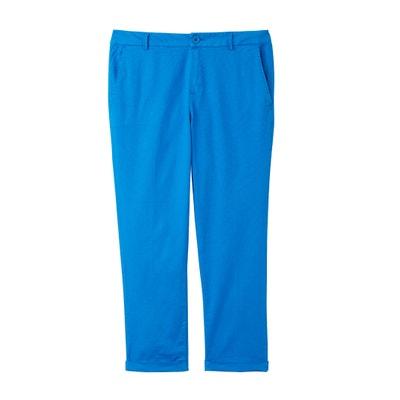 Proste spodnie 7/8, standardowa wysokość stanu Proste spodnie 7/8, standardowa wysokość stanu BENETTON