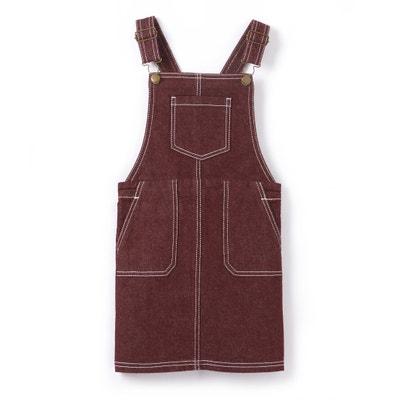 Salopetjurk in jeans 3-12 jr La Redoute Collections
