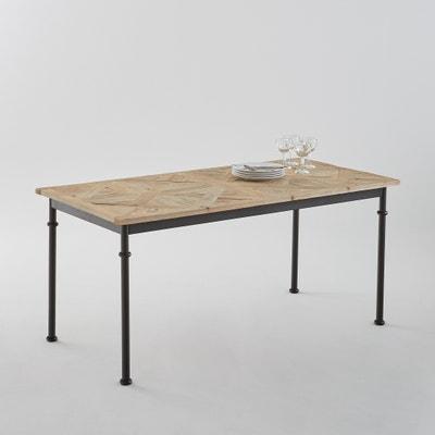Table 6 couverts marquetée, Mosaïque Table 6 couverts marquetée, Mosaïque La Redoute Interieurs